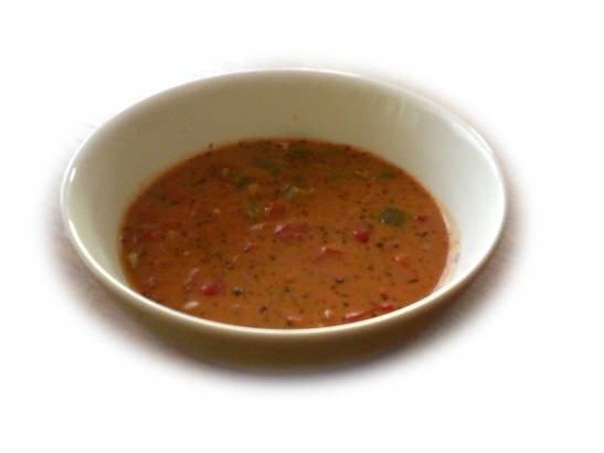 Tomaattinen kasviskeitto