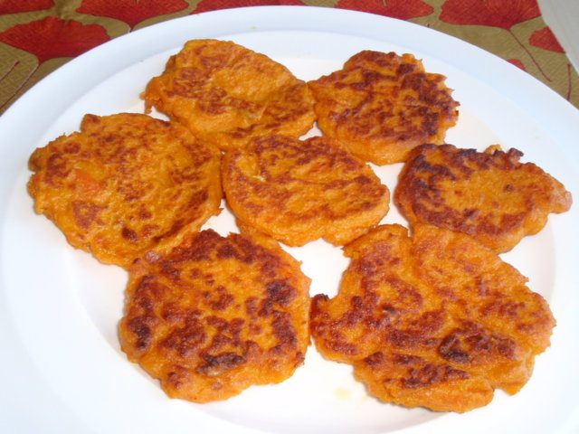 Porkkanapihvit