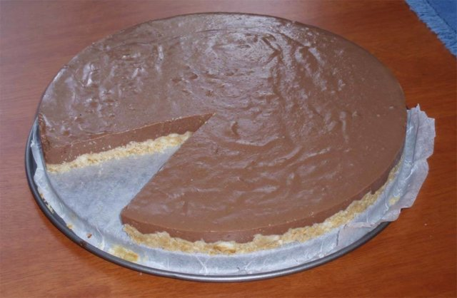 Sitruuna-suklaakakku