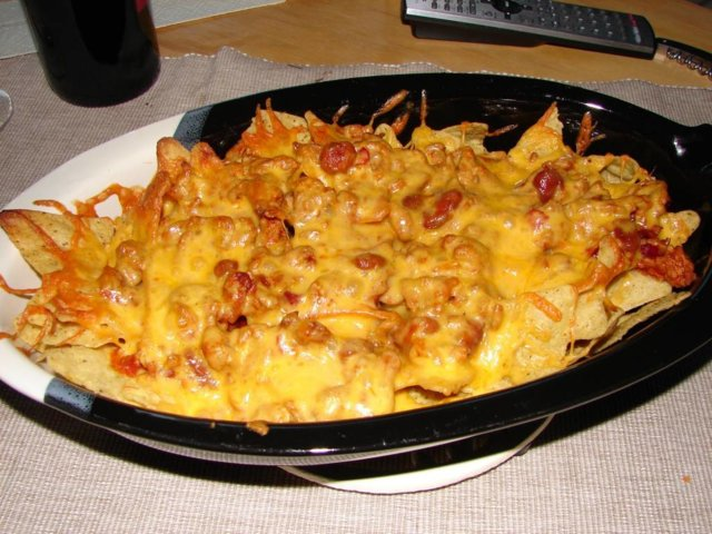 Reseptikuva: Nachos a la chili con carne 1