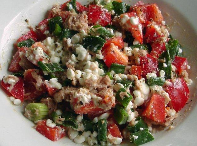 Kuntoilijan salaatti