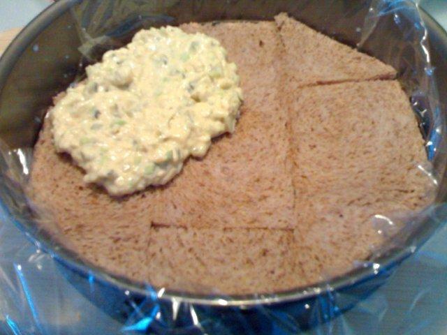 Vihreä voileipäkakku 5