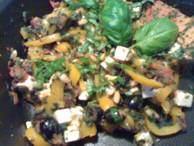 Reseptikuva: Feta-kasviskastike 1
