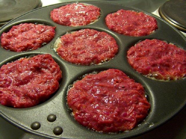 Porkkana-punajuuripihvit, gluteeniton  19.6.2007 4