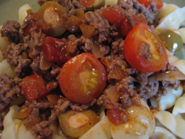 Reseptikuva: Meksikolainen jauhelihakastike 1