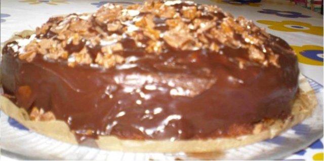 Suklaaunelma -kakku 1