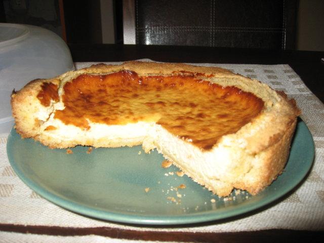 Helppo juustokakku