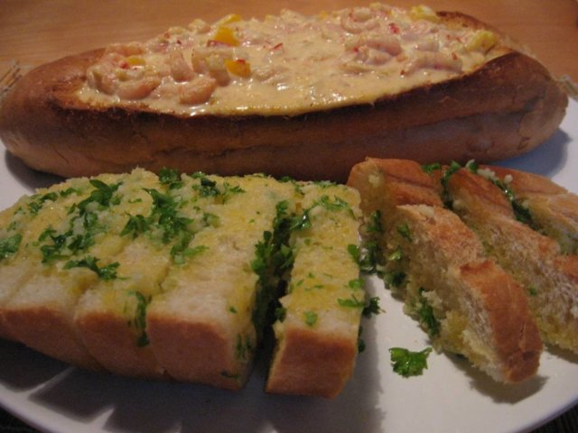 Reseptikuva: Valkosipulileipä 1