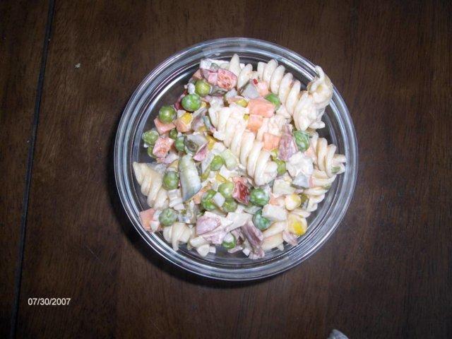 Reseptikuva: pastasalaatti 1