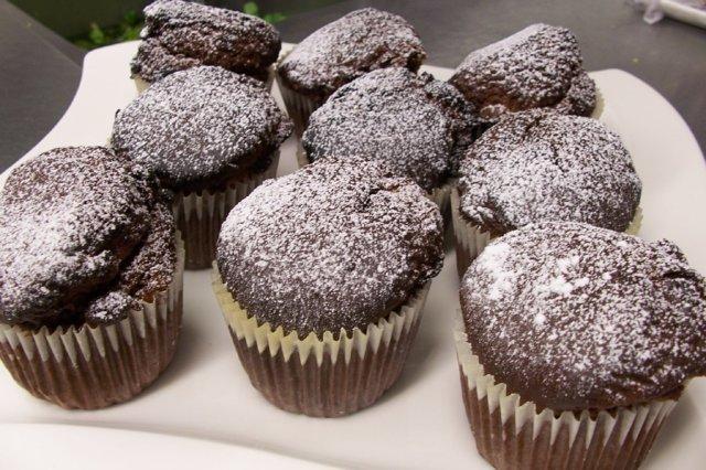 Reseptikuva: Suklaamuffinssit 1