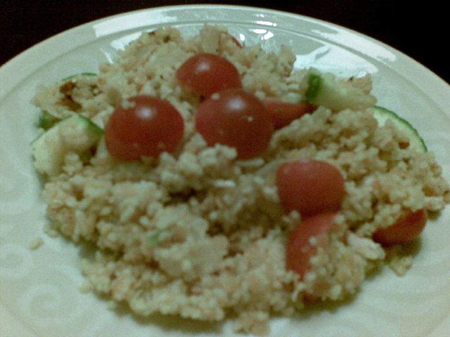 Reseptikuva: Kana-linssi-couscous -salaatti 1