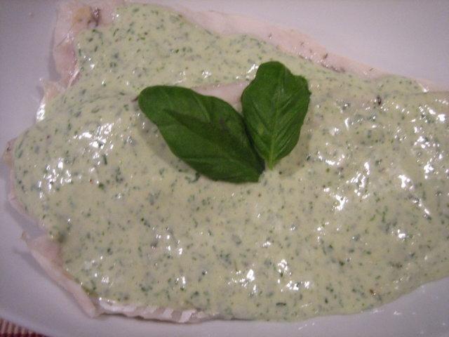 Reseptikuva: Savustettua siikaa ja vihreää kastiketta 1