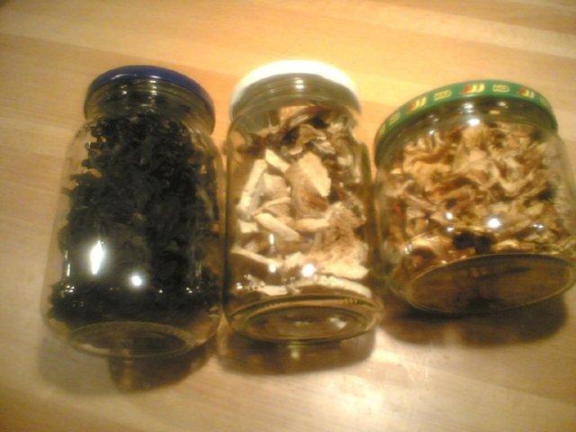 Sienimuhennos kuivatuista sienistä 1