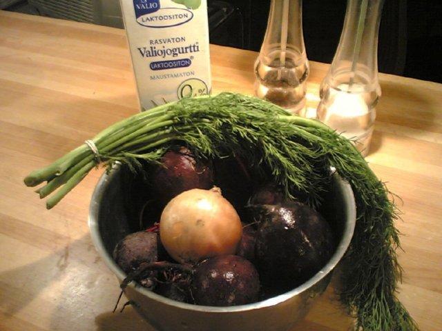 Reseptikuva: Provencelainen punajuurikeitto 1
