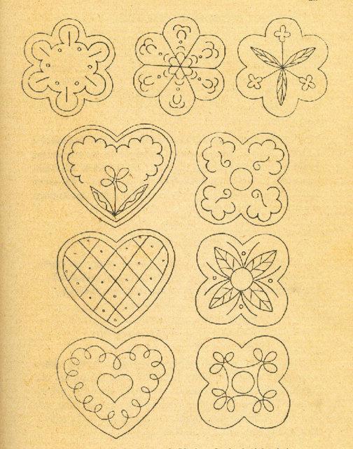 Retropiparkakut 7.   Resepti vuodelta 1938 2