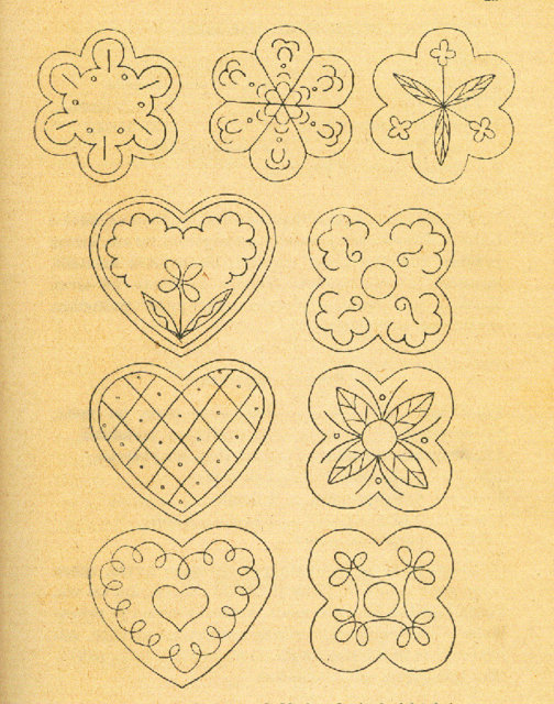 Retropiparkakut 8.   Resepti vuodelta 1938
