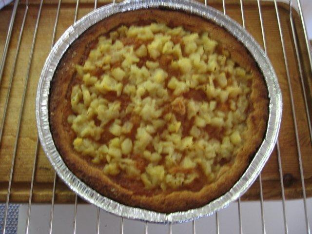 Ananas-omenatorttu 1