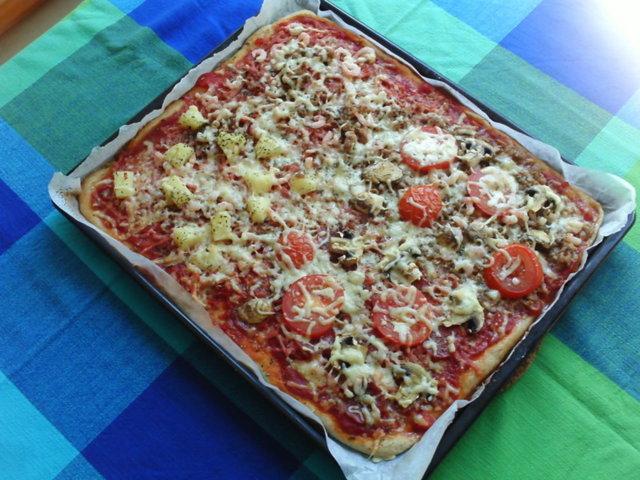 Pizzapohja (pellillinen) 1