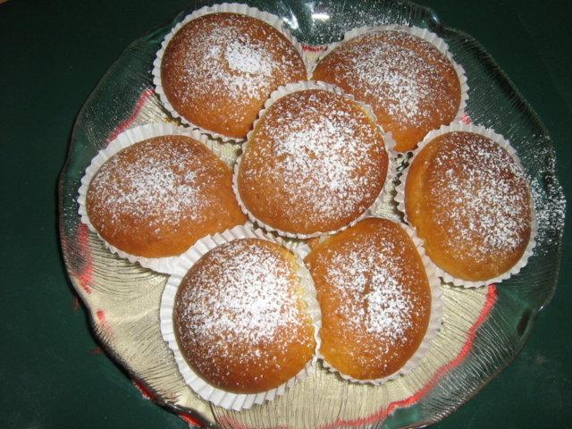 Sitruunamuffinssit
