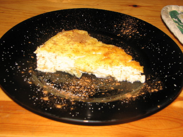 Uunijuusto (maitojauheesta)