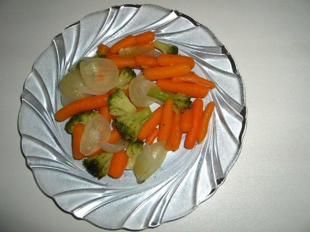 Reseptikuva: Höyrytetyt kasvikset 1
