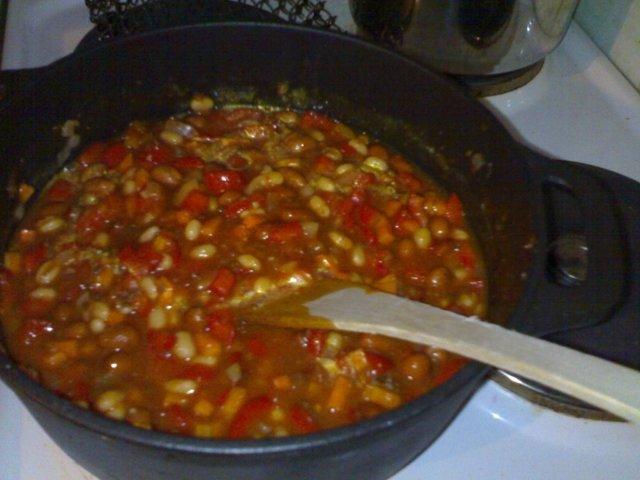 Chilipata soijarouheesta 1
