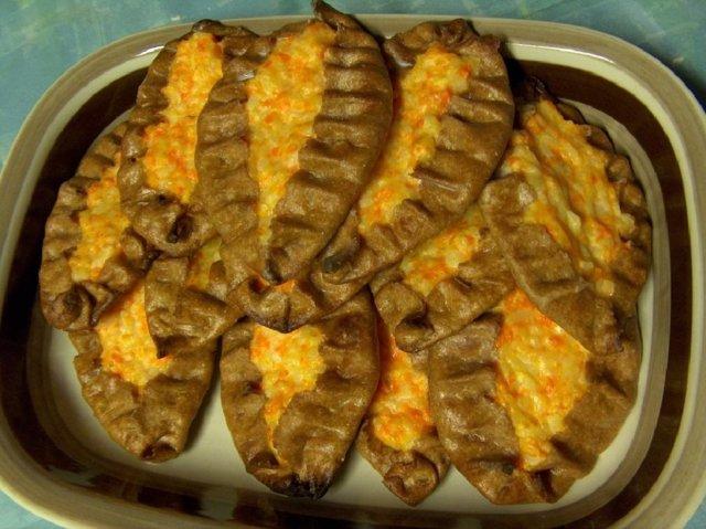 Porkkana-riisipiirakat  17.12.07 1