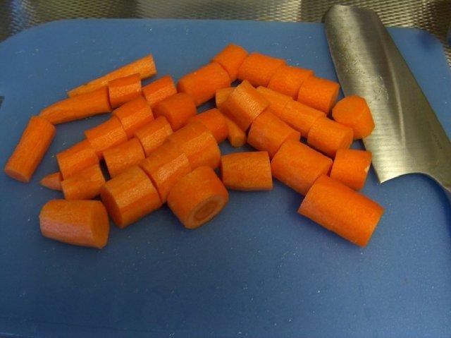 Porkkana-riisipiirakat  17.12.07 2