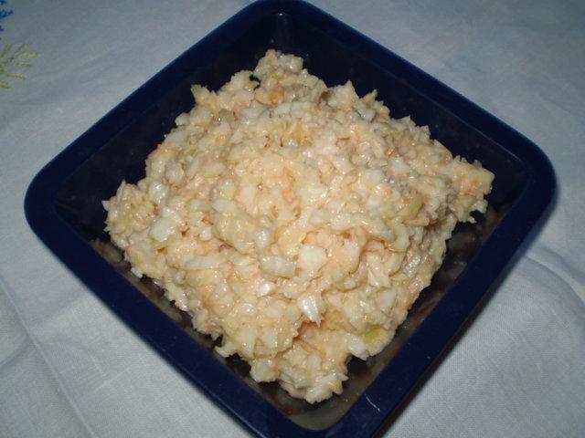Gluteeniton kasvis salaatti 1