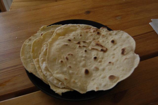 Reseptikuva: itsetehdyt tortillapohjat 1