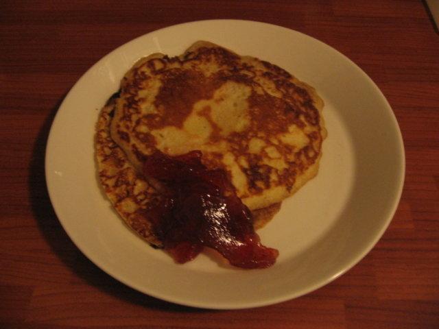 Amerikkalaiset aamiais pannukakut 1