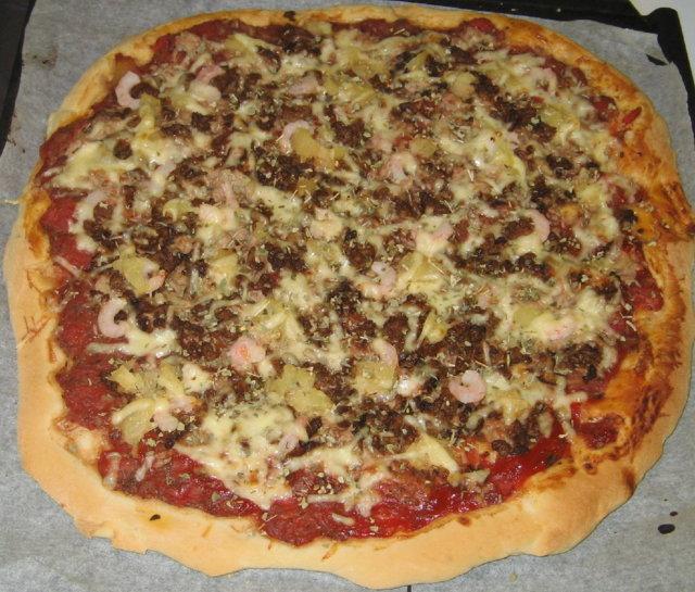 Herkullinen Pizza!