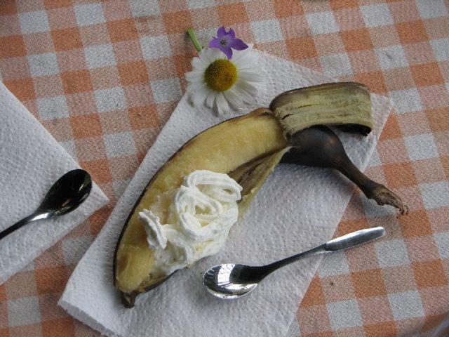 Grillatut banaanit