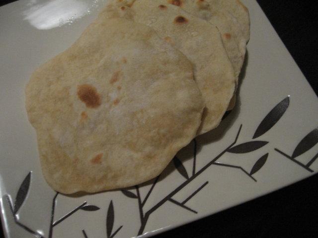 Reseptikuva: Chapati -leipä 3