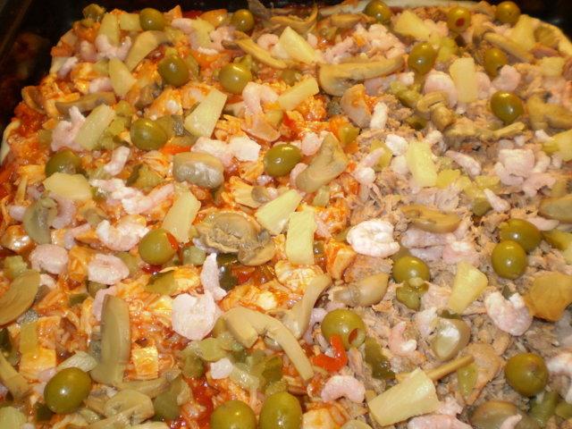 Reseptikuva: Tonnikala-broileri pizza 2