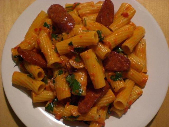 Tortiglioni Chorizo