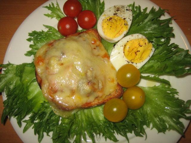 Lämmin sardiinivoileipä 1