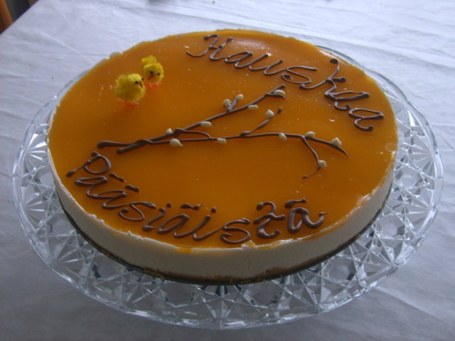 Mango-juustokakku 1
