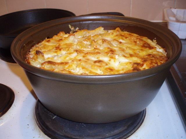 Penne vuoka lasagnen tapaan 1