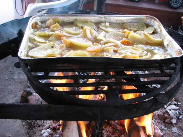 Possunfilettä Grillissä