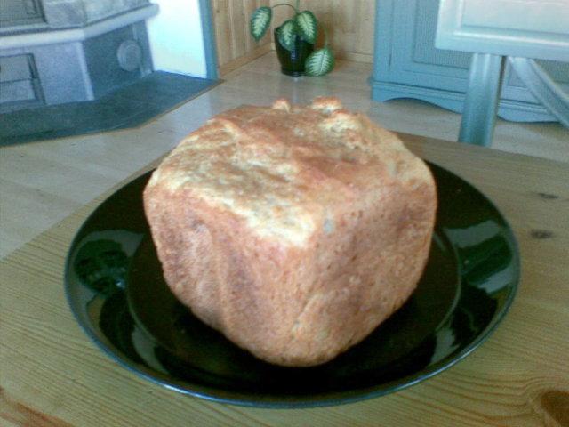 Reseptikuva: Kaurahiutaleleipä (leipäkoneella) 1