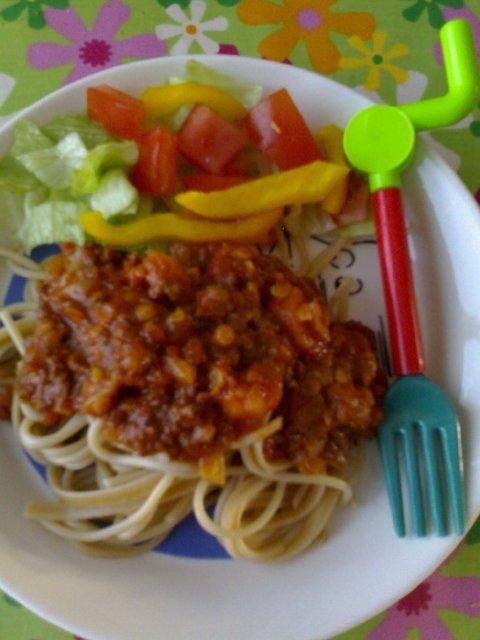 Reseptikuva: Tomaattinen linssi-porkkanakastike 1
