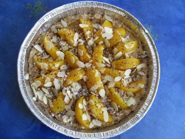 Banaani-persikkapiiras 2