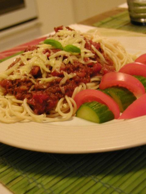 Spagetti ja soijakastike 1