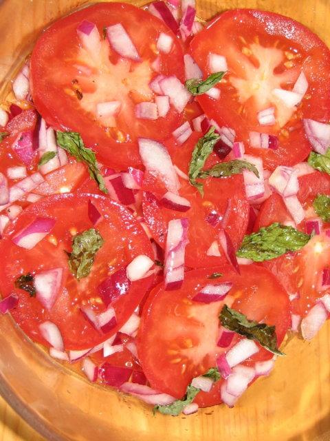 Reseptikuva: Tomaatti - Punasipuli 1