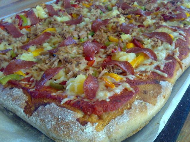 Pizzataikina mausteinen Leipäkoneessa 1