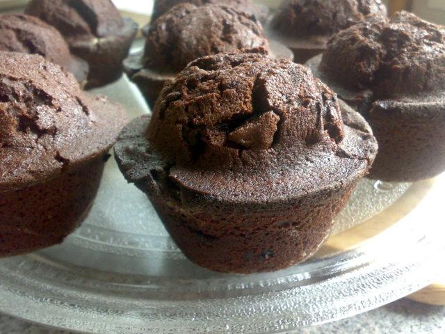 Muffini, muffinssi suklaa (minun paras muffini ohje)