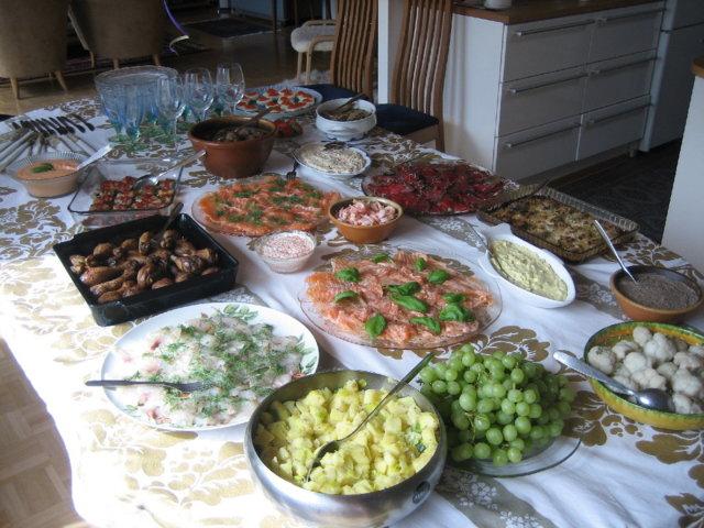 Buffet Pöytä