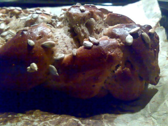 Munaleipätaikina siemenillä leipäkoneessa 1