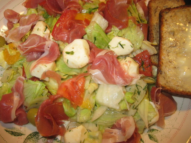 Reseptikuva: Salatti matkamuistona 1
